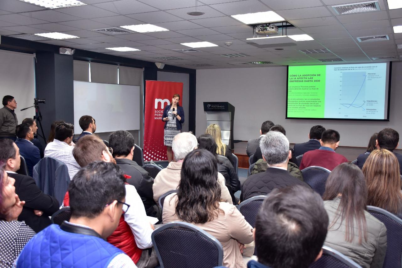 Sociedad Peruana de Marketing presenta conferencia sobre Inteligencia artificial